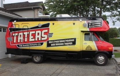 Taters Food Truck Business For Sale