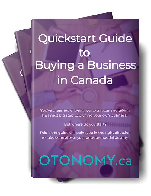 Otonomy Guide Buy Sell Business in Canada