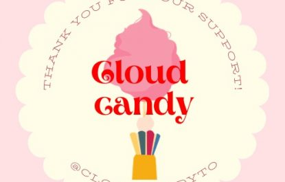 Cloud Candy Sticker Business for Sale