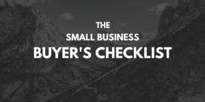 Otonomy Small Business Buyer Checklist
